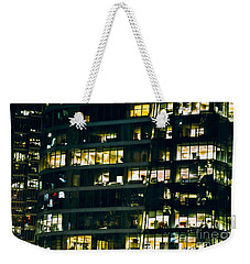 Weekender Tote Bag featuring the photograph Voyeuristic Work Cclxvii by Amyn Nasser