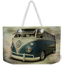 Vw Bus On Display Weekender Tote Bag