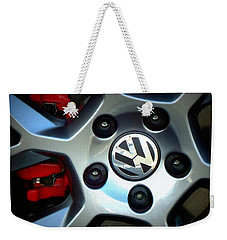 Vw Gti Wheel Weekender Tote Bag