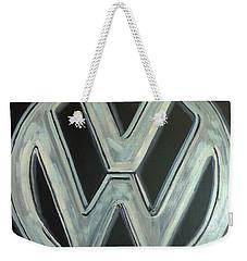 Vw Logo Chrome Weekender Tote Bag