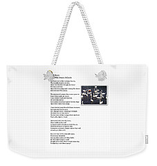 W B Keats - The Wild Swans At Atcoole Weekender Tote Bag