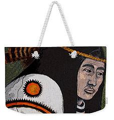 Wabanaki Warrior Weekender Tote Bag