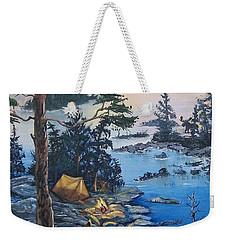 Wabigoon Lake Memories Weekender Tote Bag