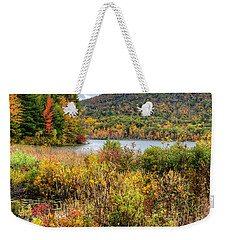 Wachusett Mt. In Autumn Weekender Tote Bag