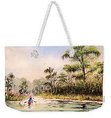 Wacissa River  Weekender Tote Bag by Bill Holkham