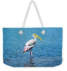 Wading Stork Weekender Tote Bag