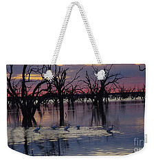 Wading The Shallows Weekender Tote Bag