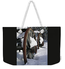 Wagons West Weekender Tote Bag