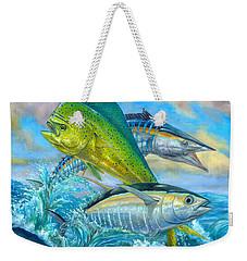 Wahoo Mahi Mahi And Tuna Weekender Tote Bag