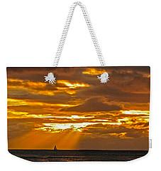 Waikiki Sun Set Weekender Tote Bag