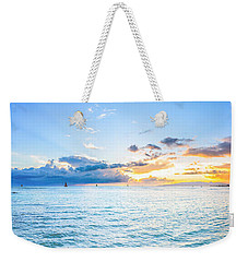 Waikiki Sunset After An Afternoon Thunderstorm Weekender Tote Bag