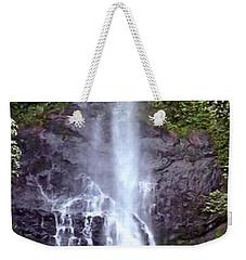 Wailua Falls Maui Hawaii Weekender Tote Bag by DJ Florek