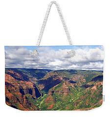 Waimea Canyon Weekender Tote Bag by Amy McDaniel