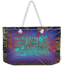 Waiting At Gouda Station Weekender Tote Bag