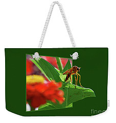 Weekender Tote Bag featuring the photograph Waiting For A Date by Thomas Woolworth