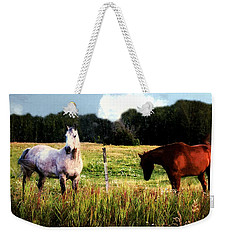 Waiting For Apples Weekender Tote Bag