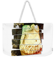Weekender Tote Bag featuring the digital art Waiting For Baby by Ann Calvo