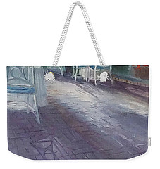 Waiting For Breakfast Weekender Tote Bag