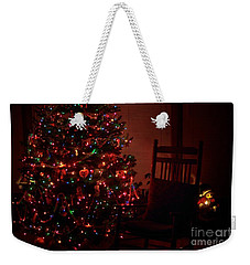 Waiting For Christmas Weekender Tote Bag