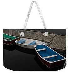 Waiting For Duty Weekender Tote Bag by Jeff Folger