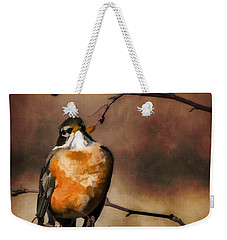 Waiting For Spring Weekender Tote Bag by Jordan Blackstone
