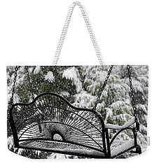 Waiting For Spring Weekender Tote Bag by Katie Wing Vigil