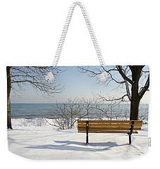 Waiting For Spring Weekender Tote Bag