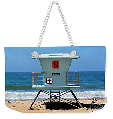 Waiting For The Lifeguard Weekender Tote Bag