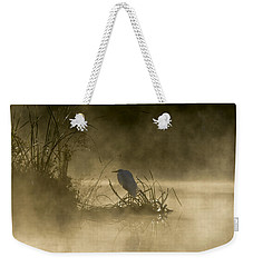 Weekender Tote Bag featuring the photograph Waiting For The Sun by Steven Sparks