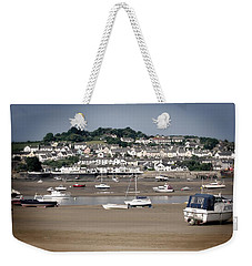 Waiting For The Tide Weekender Tote Bag by Pennie  McCracken