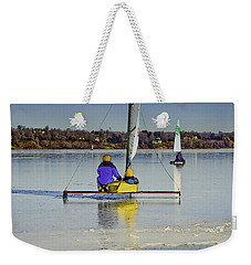 Waiting For Wind Weekender Tote Bag