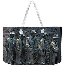 Waiting In Line Weekender Tote Bag