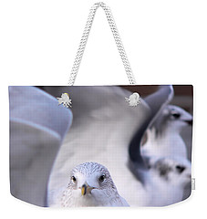 Waiting In The Wings Weekender Tote Bag