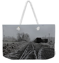 Waiting On The Side Weekender Tote Bag