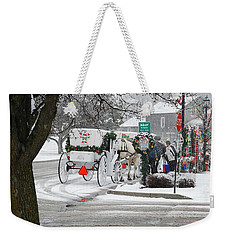 Waiting To Give A Ride Weekender Tote Bag