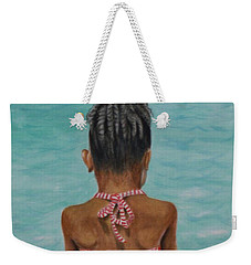 Waiting To Swim Weekender Tote Bag