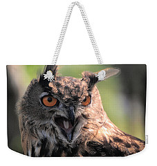 Weekender Tote Bag featuring the photograph Wake Up by Leticia Latocki