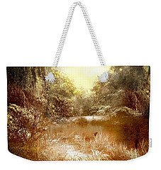 Walden Pond Weekender Tote Bag