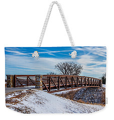 Walk Across Bridge Weekender Tote Bag