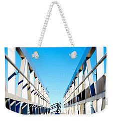 Walk Away Weekender Tote Bag