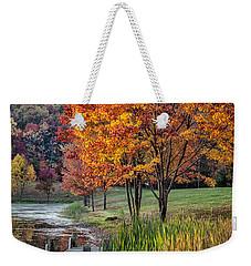 Walk Into Fall Weekender Tote Bag