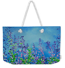 Walk Out Into The Fields Weekender Tote Bag