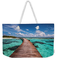 Walk Over The Water Weekender Tote Bag