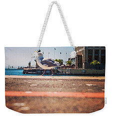 Walk The Line Weekender Tote Bag