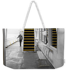 Weekender Tote Bag featuring the photograph Walk This Way by Marilyn Wilson