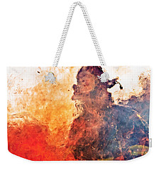 Walk Through Hell Weekender Tote Bag by Everet Regal