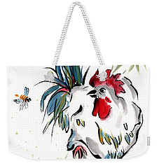 Weekender Tote Bag featuring the painting Walkabout by Bill Searle