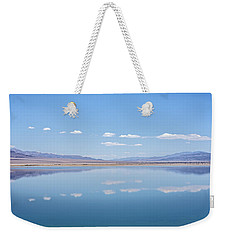 Walker Lake Mirror Weekender Tote Bag