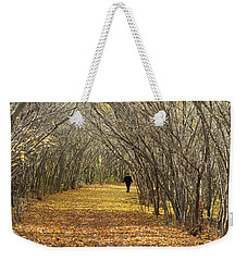 Walking A Golden Road Weekender Tote Bag