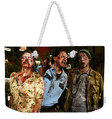 Walking Dead Weekender Tote Bag by Nina Prommer